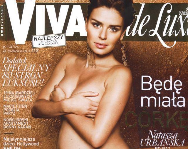 Natasza Urbańska/16,10,2008/Viva