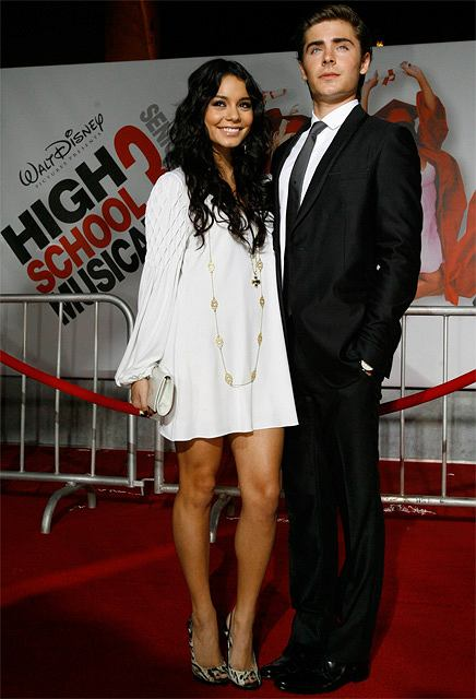 Amerykańska premiera High School Musical 3: Senior Year fot. AP Photo/Chris Pizzello/AG