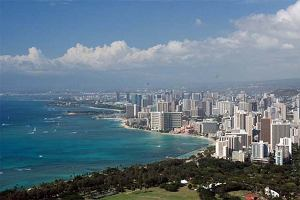 Honolulu - samotna metropolia