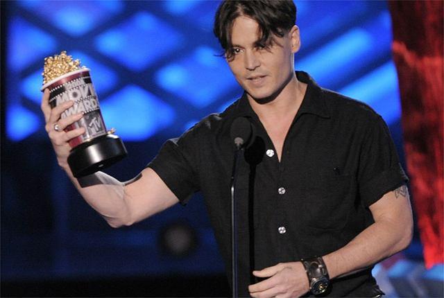Johnny Depp z Nagrodą MTV