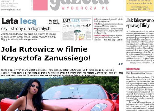 Jola Rutowicz/materiał exlusive,gazetopedia.pl