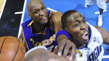 Dwight Howard i Lamar Odom