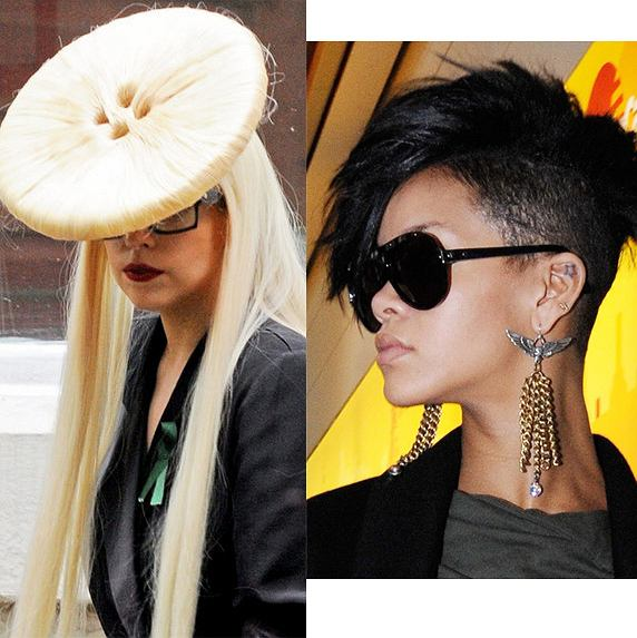 Lady Gaga fot. East News/ Rihanna fot. East News