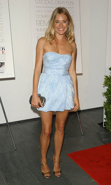 "Actress Sienna Miller attends the screening of ""The September Issue "" at The Museum of Modern Art, in New York, on Wednesday, Aug. 19, 2009. (AP Photo/Peter Kramer)"