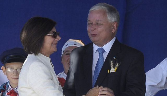 Lech i maria Kaczyńscy/Forum