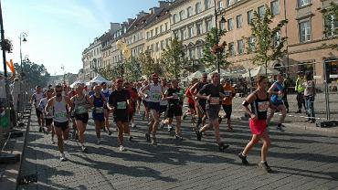 Zawodnicy 31. Maratonu Warszawskiego