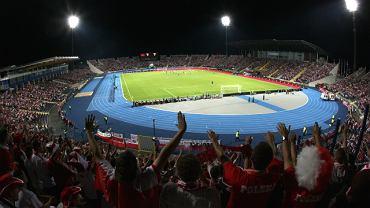 Stadion w Bydgoszczy. Tu swoje mecze gra Zawisza
