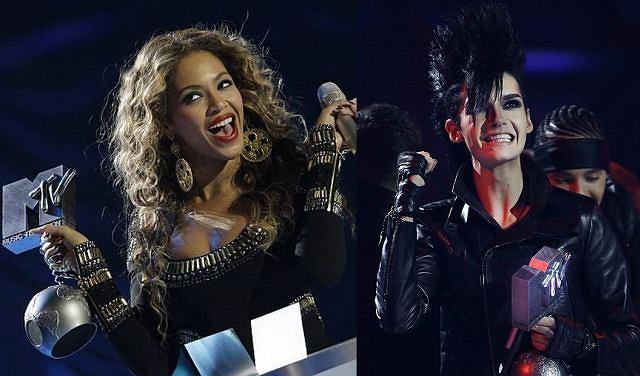 Beyonce otrzymała aż trzy statuetki. Tokio Hotel musiał zadowolić się jedną, ale dla nich to i tak duży sukces.