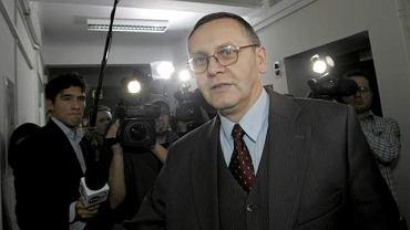 Przewodniczący komisji hazardowej Mirosław Sekuła