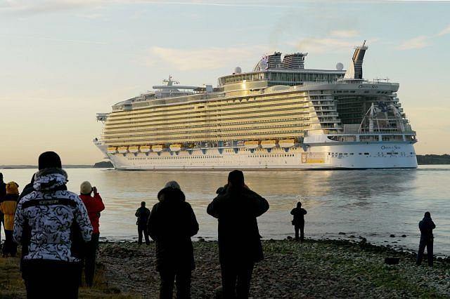 ''Oasis of the Seas'' - największy statek pasażerski świata
