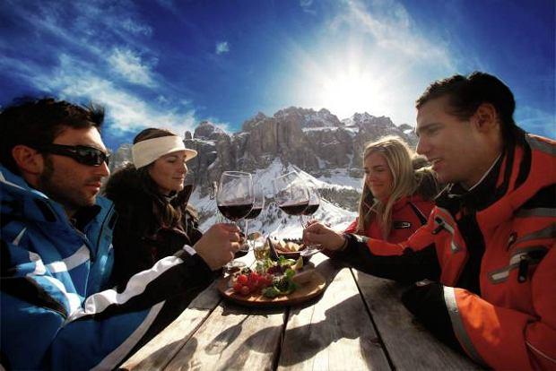 Zjeść i wypić Dolomity