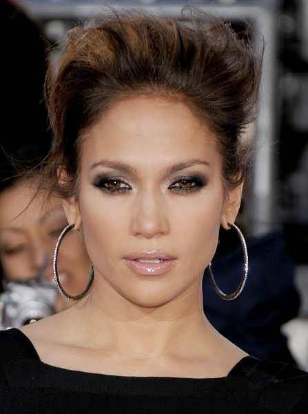 Fryzury Gwiazd Jennifer Lopez