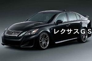 Lexus GS-F z silnikiem V10 od LFA?