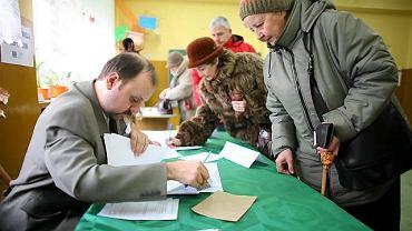 Zgodnie z protokołem przekazanym przez MKW do łódzkiej delegatury KBW uprawnionych do głosowania było 602 298 mieszkańców Łodzi