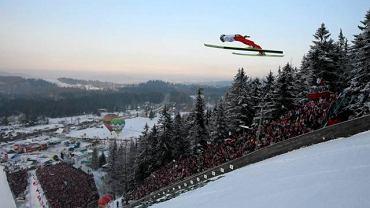 Skoczek narciarski w Zakopanem