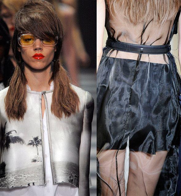 Poszarpane ubrania - trend na wiosnę 2010