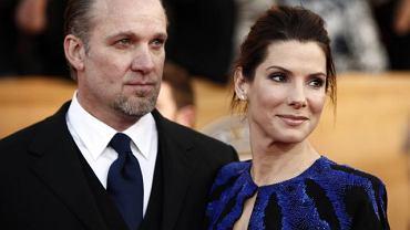 Sandra Bullock wraz z mężem Jesse Jamesem na tegorocznej ceremonii wręczenia nagród Screen Actors Guild Awards