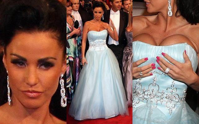 Katie Price znana też jako Jordan została zaproszona na bal w operze wiedeńskiej. Jak się na nim zaprezentowała? Przypominała bardziej upiora w operze czy Barbie?