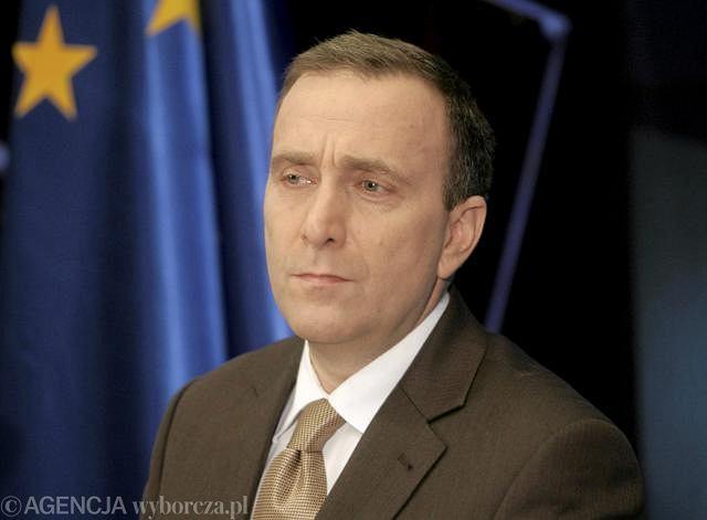 Szef klubu PO Grzegorz Schetyna