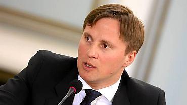 Marcin Rosół, były szef gabinetu politycznego min. sportu Mirosława Drzewieckiego