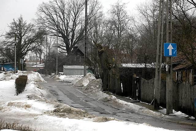 Ulica Fryderyka Chopina na osiedlu Bojary w Białymstoku