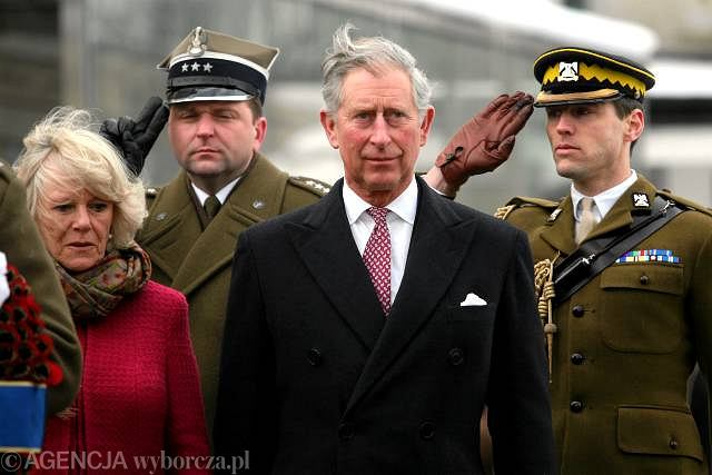 Książe Karol i jego małżonka Camilla Parker Bowles