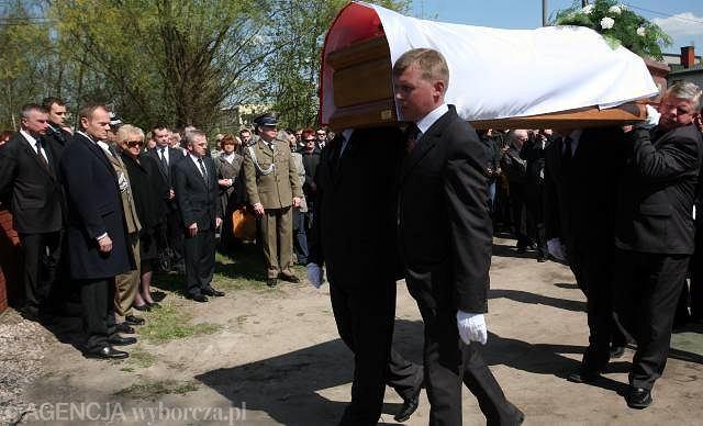 Góra Kalwaria - pogrzeb ppor. BOR Agnieszki Pogródki-Węcławek