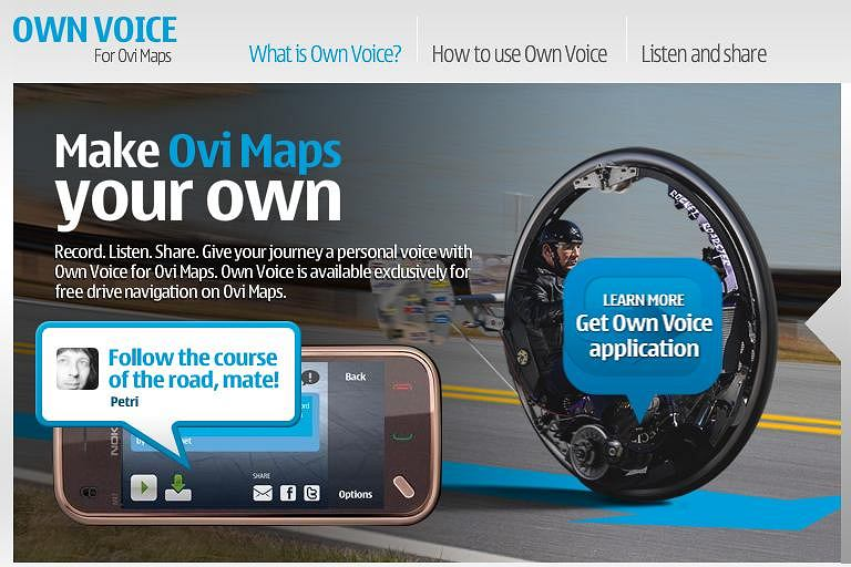 Nokia Own Voice