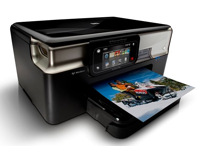 HP Photosmart Premium with TouchSmart Web