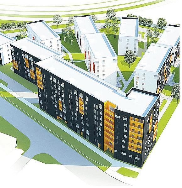 Tak miało wyglądać osiedle domów komunalnych przy Kłobuckiej w Warszawie