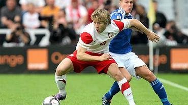 Jakub Błaszczykowski w meczu z Finlandią
