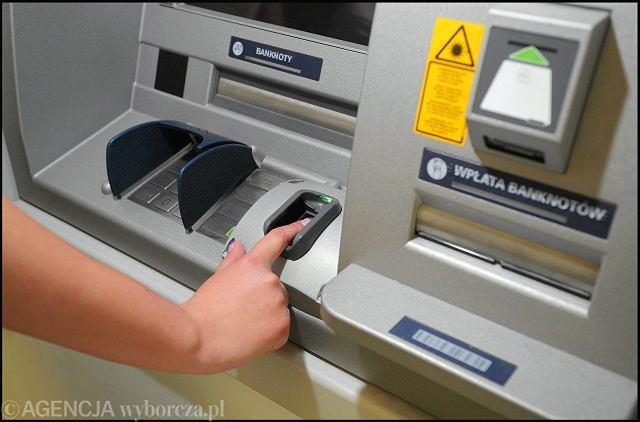 Bankomat biometryczny