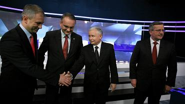 Kandydaci po debacie w TVP