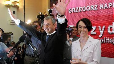 Grzegorz Napieralski zajął trzecie miejsce pod względem wyniku w I turze wyborów prezydenckich