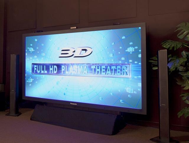 Plazma 3D firmy Panasonic