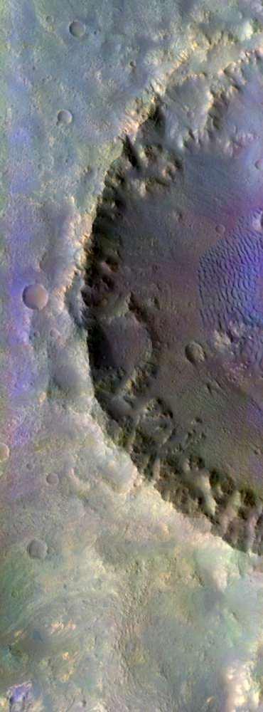 Krater na Marsie