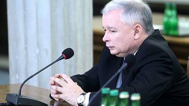 Jarosław Kaczyński zeznaje przed komisją śledczą ds. okoliczności śmierci Barbary Blidy