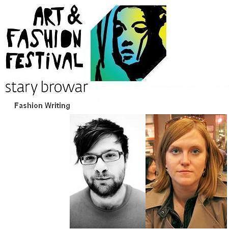 Art & Fashion Festival 2010 - Art & Fashion Workshops - Fashion writing - warsztaty projektowania mody prowadzący Hanna Rydlewska i Tomasz Różyc