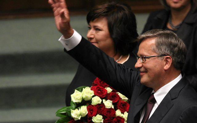 Dzisiaj Bronisław Komorowski złożył przysięgę i został prezydentem Polski.