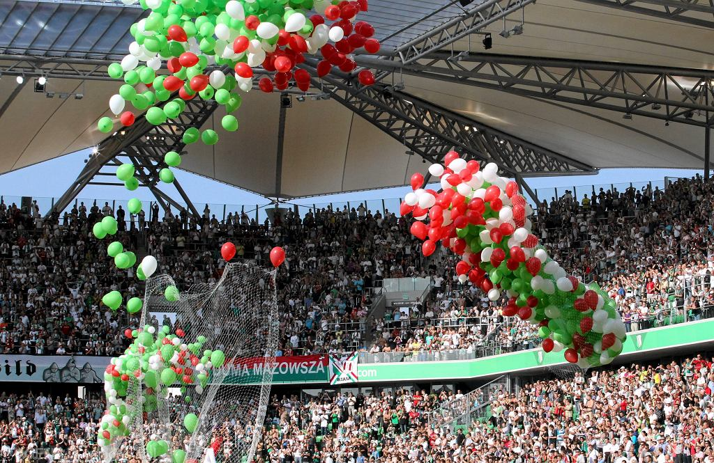 Legia - Arsenal, otwarcie stadionu