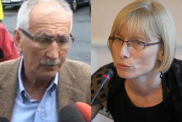 Paweł Deresz, mąż Jolanty Szymanek-Deresz, i Beata Gosiewska, żona Przemysława Gosiewskiego