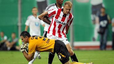 Marcin Cabaj łapie piłkę