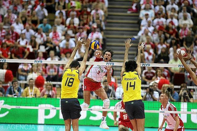 Siatkówka: Polska - Brazylia
