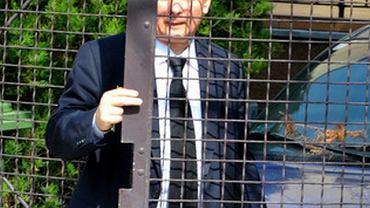 Jarosław Kaczyński podczas codziennych czynności.