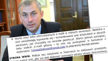 Grzegorz Napieralski i instrukcja SLD