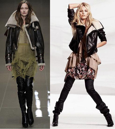 Burberry Prorsum na jesień/zimę 2010/2011 i Anja Rubik w najnowszej kampanii H&M