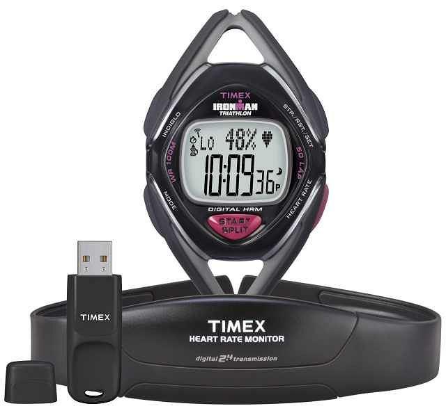 Za ankietą dotyczącą najbardziej pożądanych cech zegarków biegowych stoi firma Timex