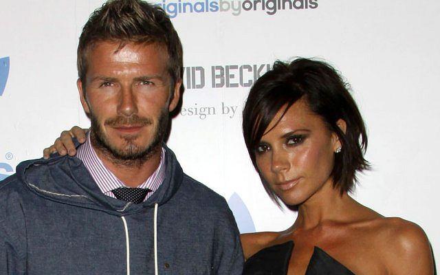 David i Victoria Beckham.