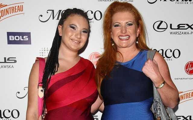 Wiktoria Grycan i Marta Grycan na Tadashi Fashion Night.