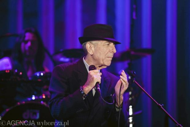 Zdjęcie numer 5 w galerii - Leonard Cohen zawładnął Spodkiem